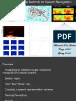 ANN Presentation