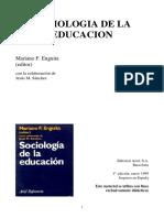 Castillo Romero Sociologia de La Educacion