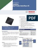 Bosch lambda probe interface IC datasheet