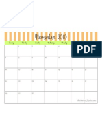 November 2010 Calendar - TomKat Studio
