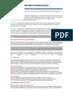 resumen farmacologia