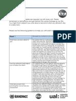 u6 evaluation journal final