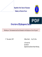 MOEP Overview of Hydropower Sector