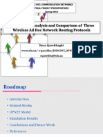 Slides Performance Analysis and Comparison of Multi-Hop Wireless Ad Hoc Network Routing Protocols