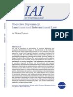 Coercive Diplomacy