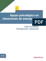 5 Temario Apoyo Psicológico en Situaciones de Emergencia.