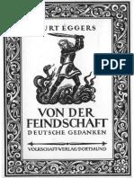Eggers Kurt - Von Der Feindschaft