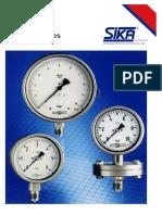 SIKA pressure gauges.pdf