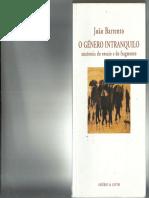 BARRENTO, João. O género intranquilo