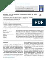 Evaluation of the Hot Mix Asphalt Compactability Utilizing the Impact