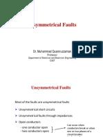 Unsymmetrical Faults