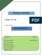 Leadership quality of Jamsethji TATA