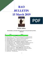 Bulletin 190315 (HTML Edition)