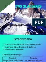 Depositos de Glaciar Por Gravedad