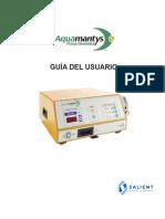 Manual generador de bombeo Aquamantys™