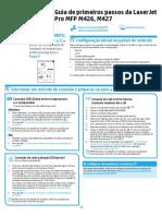 HP LaserJet Pro M426dw - Guia de Instalação