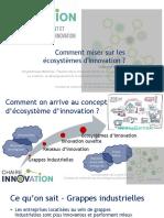 Comment miser sur les écosystèmes d'innovation ?