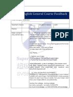 Judy (March 13, 2019) General Course Feedback Form