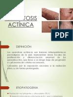 Queratosis actínica