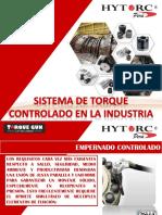 Hytorc Sistema de Torque Hidráulico en La Industria