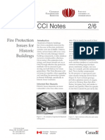 CCI Notes Canadian Conservation Institute, General Precautions of Storage areas