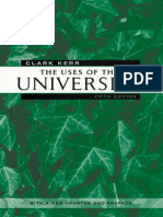 [The Godkin Lectures on the Essentials of Free Government and the Duties of the Citizen] Clark Kerr - The Uses of the University_ Fifth Edition (2001, Harvard University Press).pdf