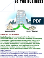 Topic 3 3 Financing the Business PRESENTATION