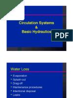Pool Hydraulics