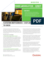 1. Flotation Inefficiencies 5 Key Areas