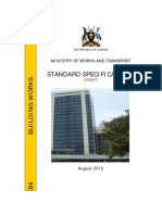 UG - Standard Specifications Building Works Amended August 2012
