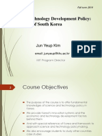 Science and Technology Policy in Korea