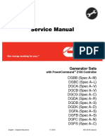 Cummins Onan DGFA Generator Set with Power Command 2100 Controller Service Repair Manual.pdf