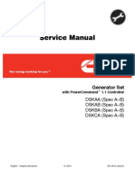 Cummins Onan DSKAA Generator Set with Power Command 1.1 Controller Service Repair Manual.pdf