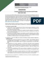 Consistencia PMI 2019-2021