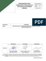 02 Mm-pop-802-02 Proce. Para Fabr. e Instal. de Cantiliver en Plataf. Marinas