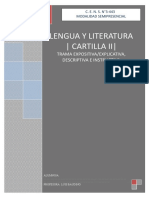 Cartilla II Texto Expositivo- Explicativo