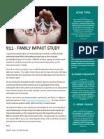 911 Family Impact Study - Flyer