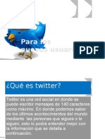 Pasos Basicos Para Twitter