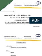 Unidad Didactica-presentacion Ejecutiva