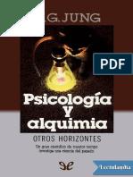 Psicologia y Alquimia - Carl Gustav Jung