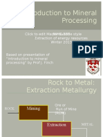 130444965 2 Introduction to Mineral Processing