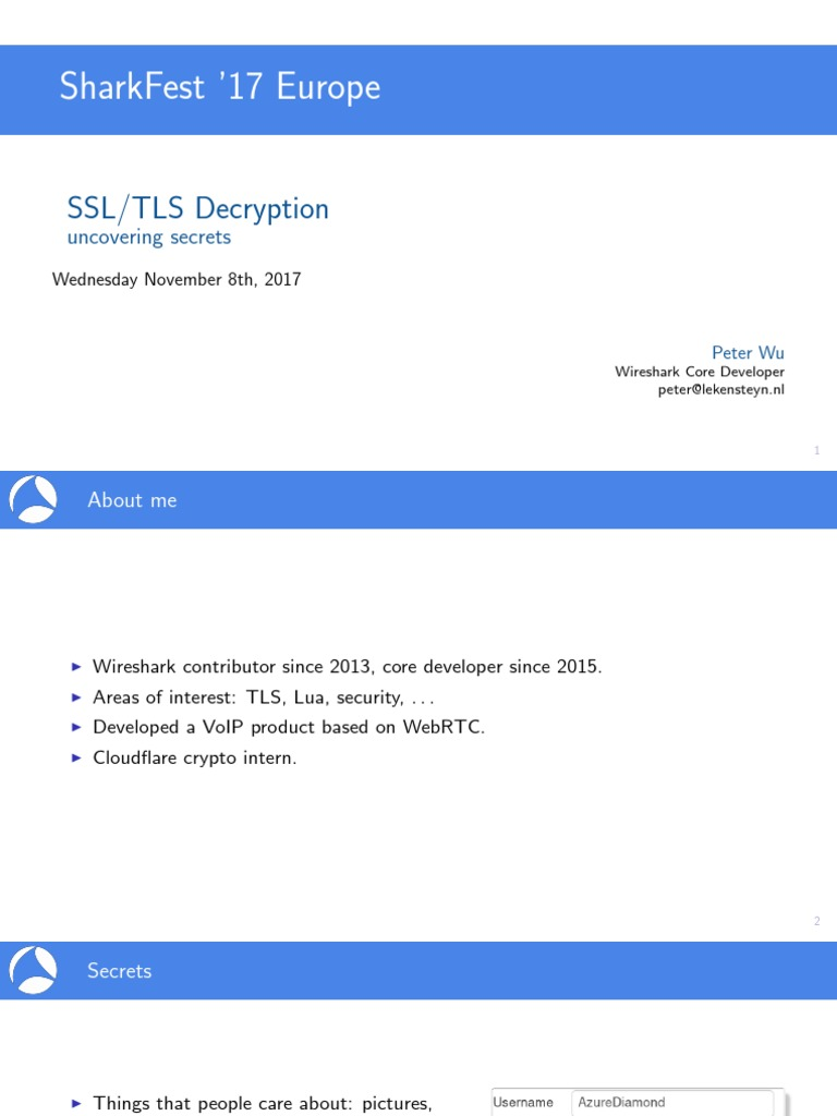 SSL TLS Decryption Uncovering Secrets | Transport Layer Security