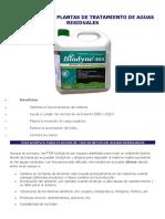 Bacterias Para Plantas de Tratamiento de Aguas Residuales