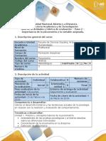 Guía de actividades y rúbrica de evaluación - Paso 2 - Importancia de la psicometria y la variable asignada (1).docx