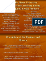 New England Forest Products SBA Presentation.ppt