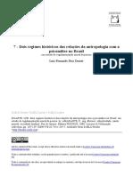 Dois regimes históricos das relações da antropologia com a psicanálise no Brasil.pdf