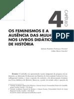 Feminismo e a Ausencia Das Mulheres