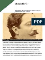 En busca del poeta Julio Flórez