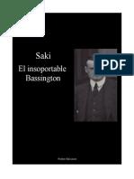 Saki - El Insoportable Bassington