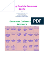 Learning English Grammar Easily